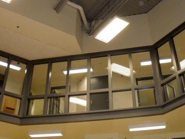 Secur-Tem + Poly Glass Clad Polycarbonate Security Glazing