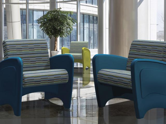 hip and artistic lounge arm chair - SWS Group