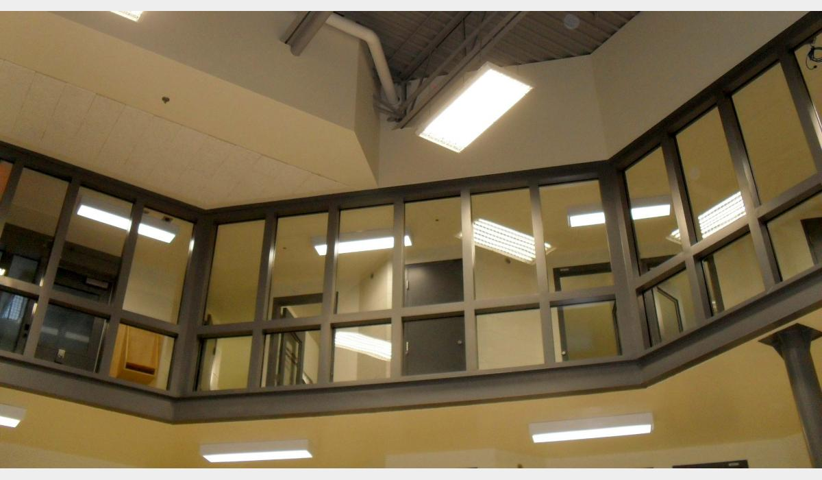 Secur-Tem + Poly Glass Clad Polycarbonate Security Glazing